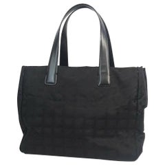 CHANEL New Travel Line tote PM tote bag A20457 black