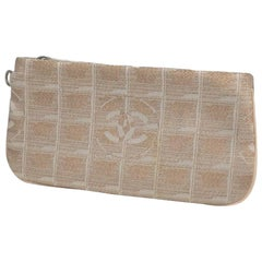 CHANEL New Travel Line Womens pouch pink