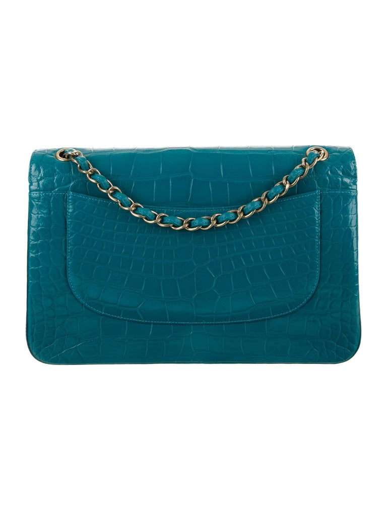 The Exotic Chanel You Need to Complement Your Collection.    Since announcing the discontinuation of exotic skin handbags, the demand for exotic Chanel has increased tenfold. And the demand for alligator skin Chanel is no exception. Crafted of