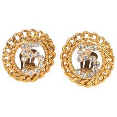 Chanel No. 5 Earrings - gold