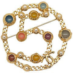Chanel No. 5 Large Brooch, 2018 Collection