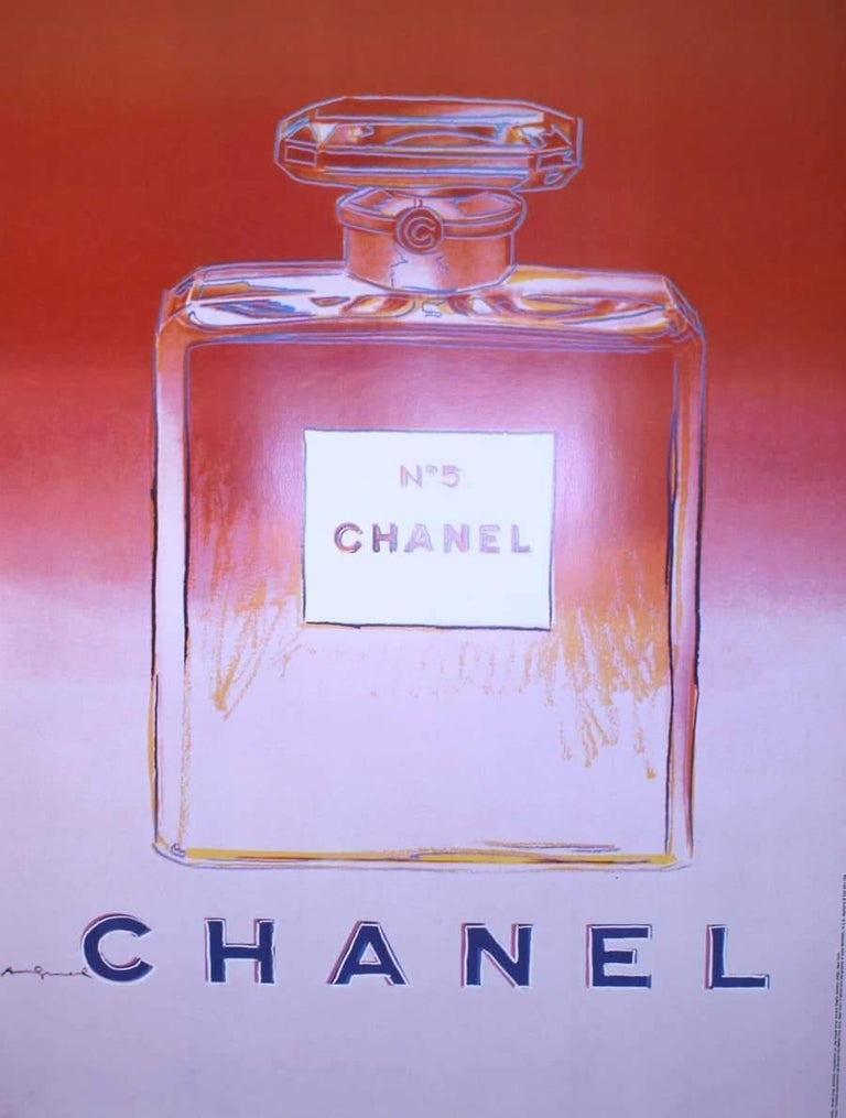 Chanel Nº 5 Original Poster In Good Condition For Sale In Encino, CA