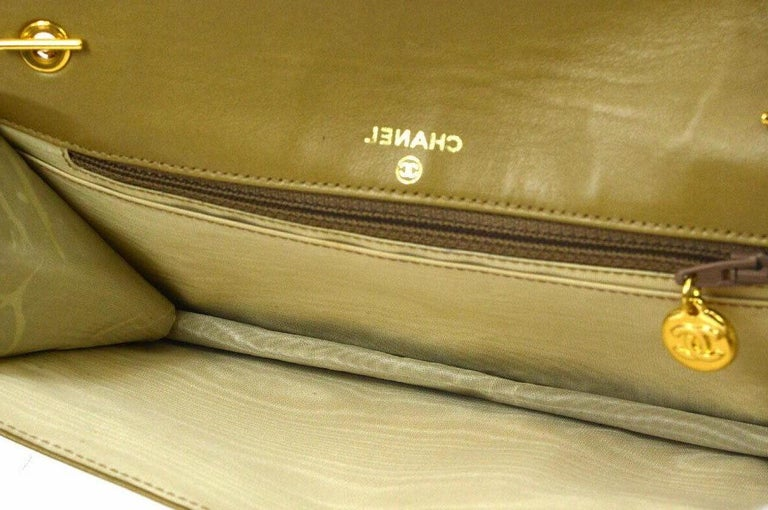 Chanel Nude Beige Caviar Gold Evening Shoulder Crossbody WOC Flap Bag in Box For Sale 2