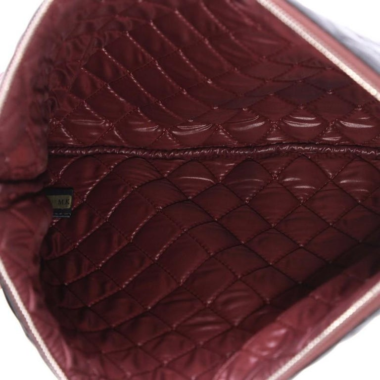 Chanel O Case Clutch Quilted Lambskin Large For Sale 1