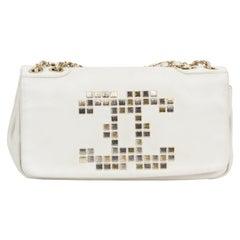 Chanel Off White Mosaic Shoulder Bag