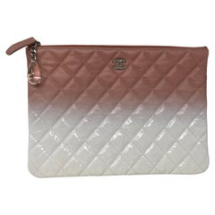 Chanel Ombre Clutch Pink