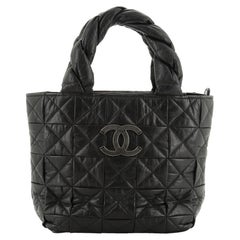Chanel Origami Tote Quilted Aged Calfskin Small