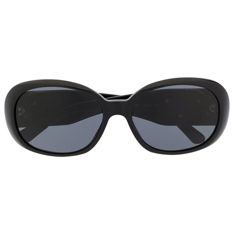 Chanel Oversized Tinted Sunglasses For Sale