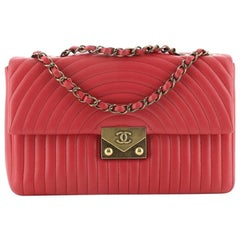 Chanel Pagoda Flap Bag Quilted Lambskin Medium