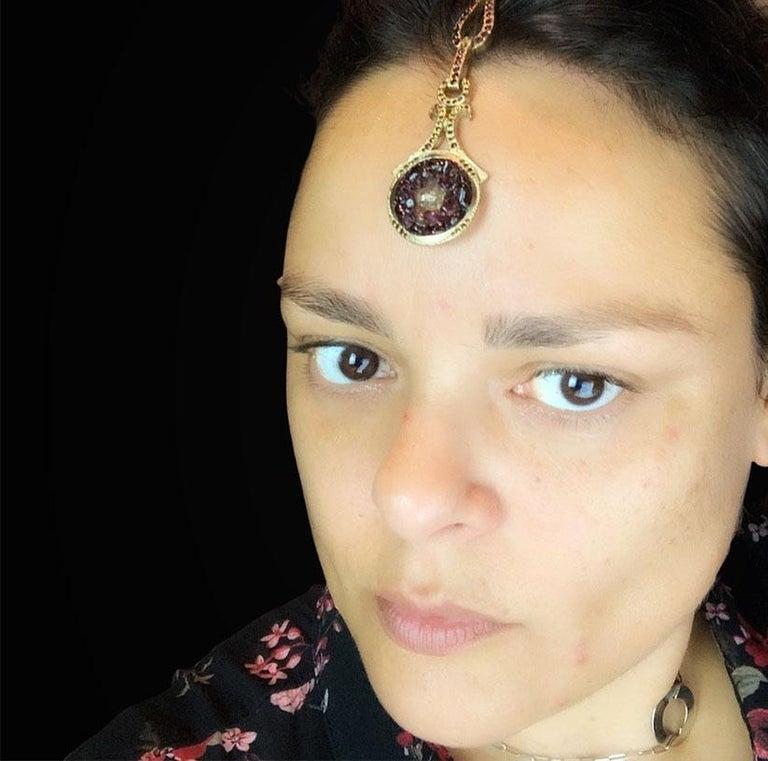 CHANEL Paris Bombay Hair Jewel For Sale 2