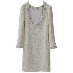 Chanel Paris Bombay Tweed Dress