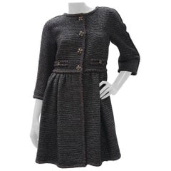 Chanel Paris Byzance Gripoix Tweed Coat Jacket Blazer CC Logo Button