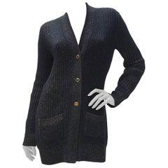 Chanel Paris Byzance Silk Cashmere Cardigan Sweater