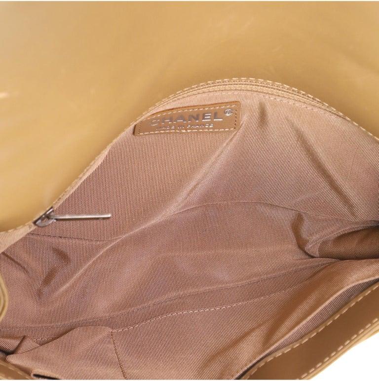Chanel Paris-Dallas Boy Flap Bag Enchained Fringe Tweed with Calfskin New Medium For Sale 2