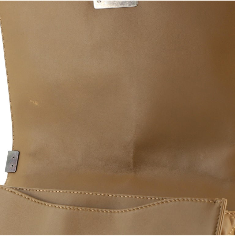 Chanel Paris-Dallas Boy Flap Bag Enchained Fringe Tweed with Calfskin New Medium For Sale 4