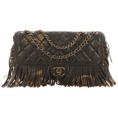 4ff65380256f Chanel Paris-Dallas Fringe Flap Bag Quilted Leather