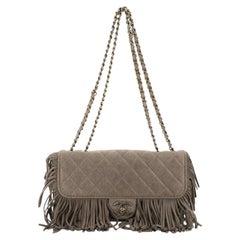 Chanel Paris-Dallas Fringe Flap Bag Quilted Leather