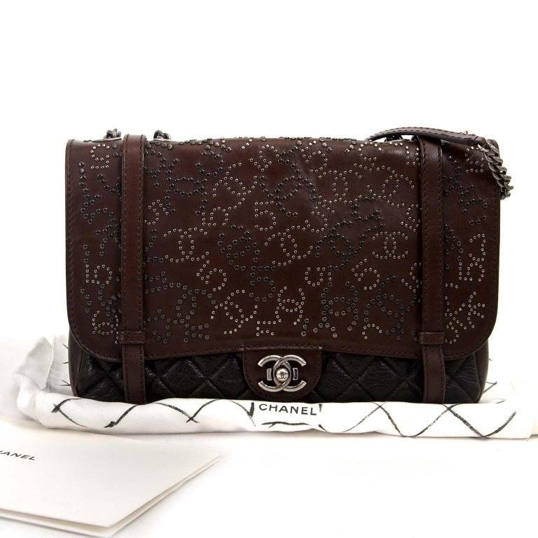 Chanel Paris Dallas Studded Lambskin Western Bag  For Sale 1