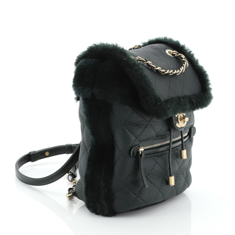 Chanel Paris-Hamburg Flap Backpack In Good Condition For Sale In New York, NY