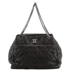 Chanel Paris-Moscow Cells Accordion Tote Quilted Lambskin Medium