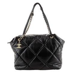 Chanel Paris-New York Bowling Bag Quilted Lambskin Medium