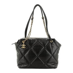 Chanel Paris-New York Bowling Bag Quilted Lambskin Medium