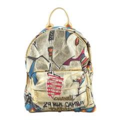 Chanel Paris-New York Street Spirit Backpack Graffiti Printed Canvas
