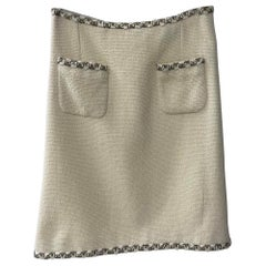Chanel Paris Byzance 2 pocket tweed Skirt