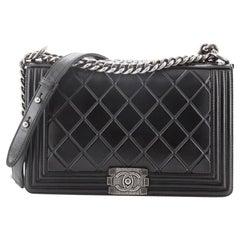 Chanel Paris-Salzburg Boy Flap Bag Embossed Calfskin New Medium