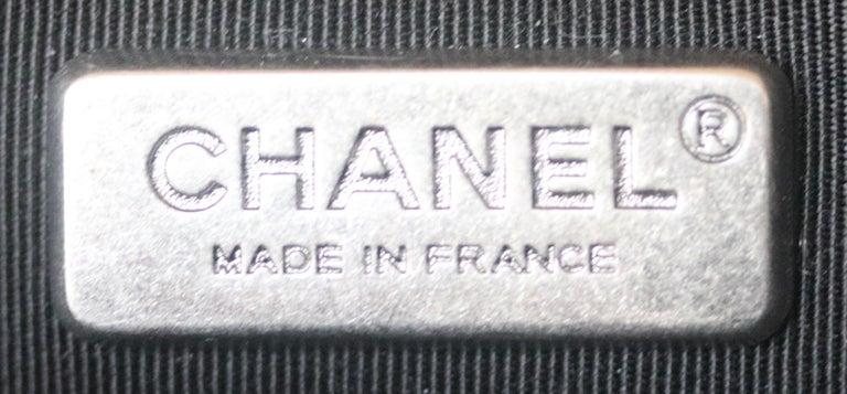 Chanel Paris-Salzburg Embroidered Quilted Felt Medium Boy Flap Bag  For Sale 6