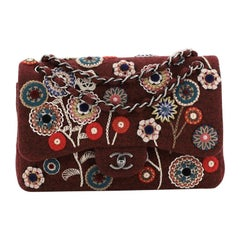Chanel Paris-Salzburg Flap Bag Embroidered Felt Jumbo