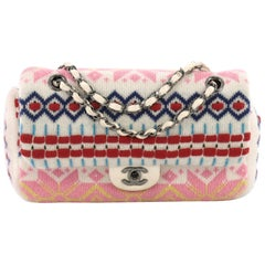 Chanel Paris-Salzburg Flap Bag Multicolor Cashmere Medium