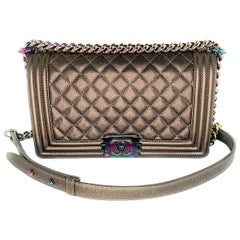 Chanel Paris-Seoul Iridescent Medium Boy Bag