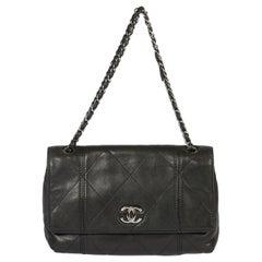 Chanel Soft Black Jumbo Flap Bag