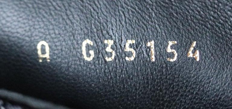 Chanel Pearl Embellished Crackled Calfskin Leather Boots  For Sale 3