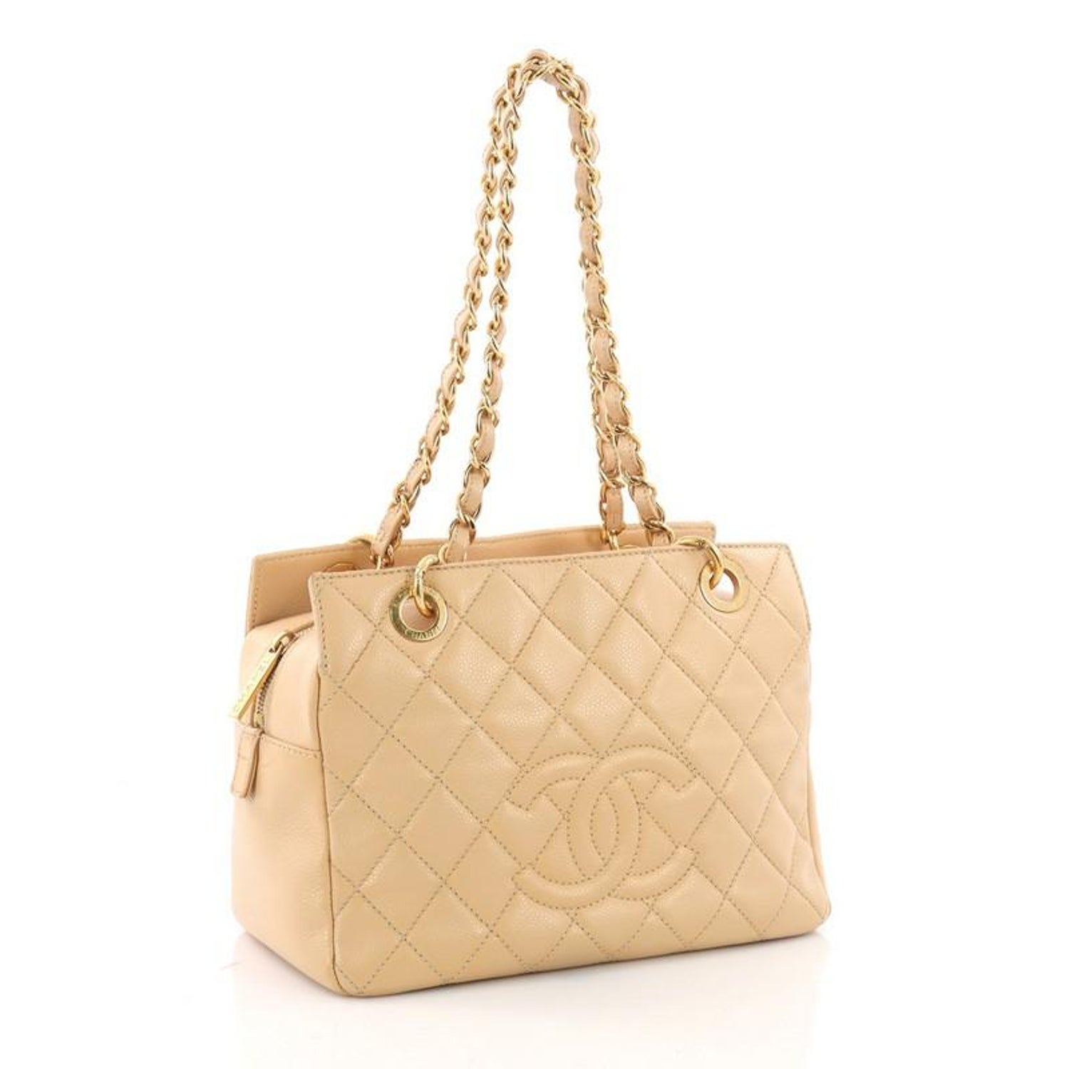 e5824303b528 Chanel Petite Timeless Tote Quilted Caviar at 1stdibs