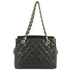 Chanel Petite Timeless Tote Quilted Lambskin