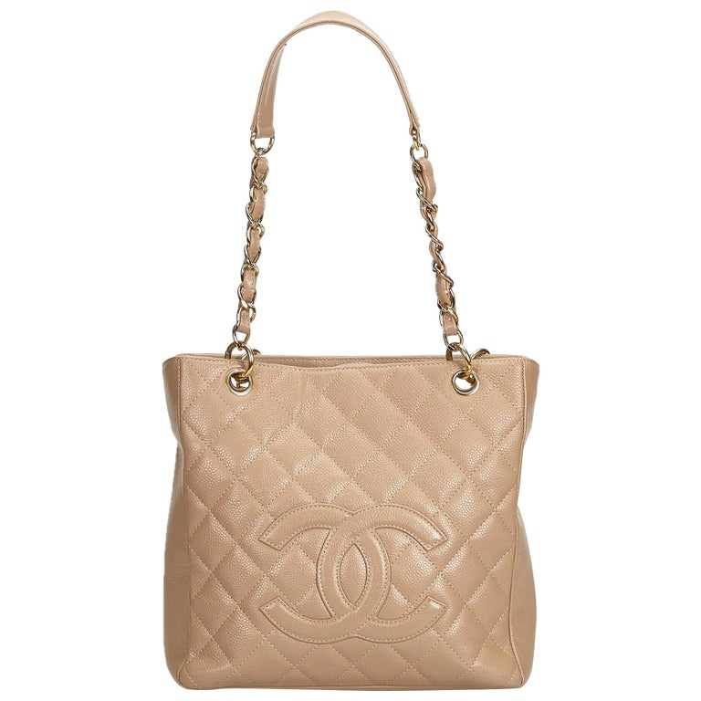19e427c2c871 Chanel Pink Caviar Leather Leather Caviar Petite Shopping Tote ITALY For  Sale