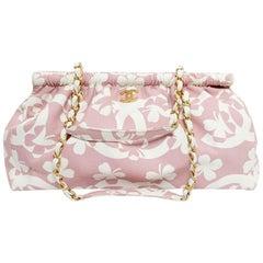 Chanel Pink Fabric Vintage Bag