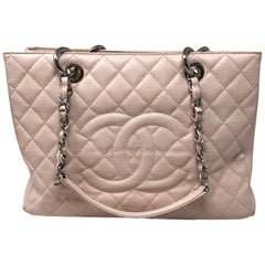 Chanel Pink Large Grand Shopper Tote