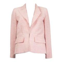 CHANEL pink silk 2017 PARIS CUBA Blazer Jacket 36 XS 17C