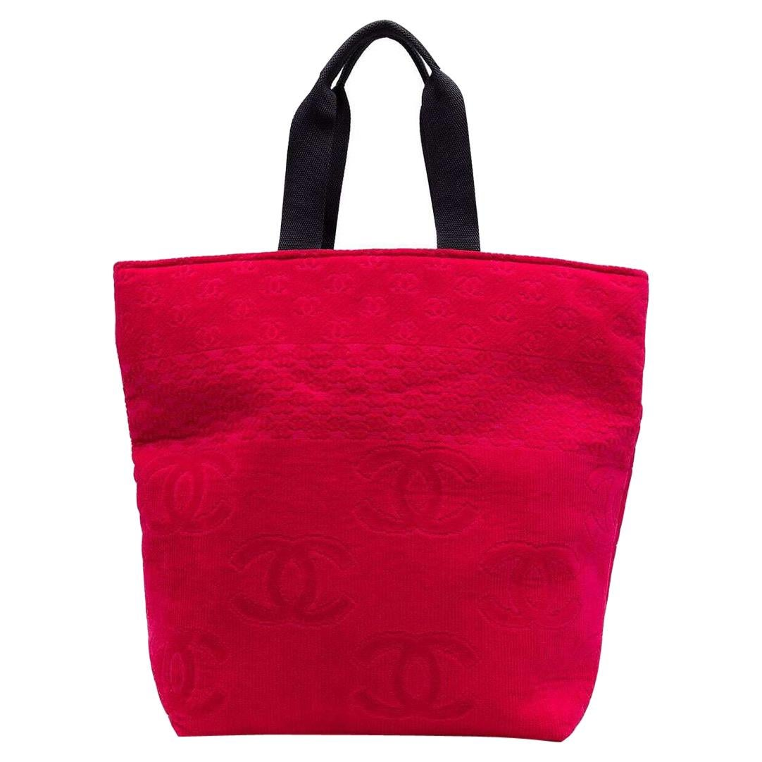 Chanel Pink Tote Bag