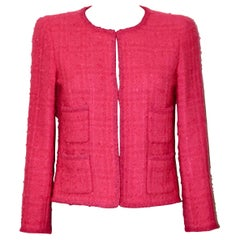 Chanel Pink Tweed Jacket