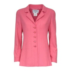 Chanel Pink Wool Jacket