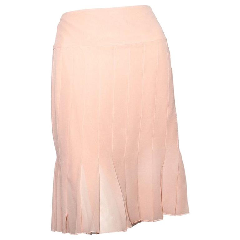 Chanel Pleated Skirt RTW 2003 For Sale