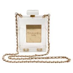 Chanel Plexiglass No. 5 Perfume Bottle Bag