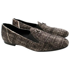 Chanel Pony Hair Check CC Loafers - Size 38.5
