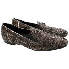 Chanel Pony Hair Check CC Loafers - Size EU 38.5