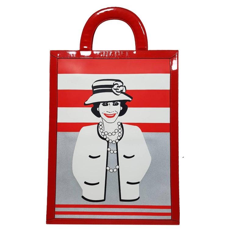 Chanel Portrait Mademoiselle Coco Tote bag, A / W 2001
