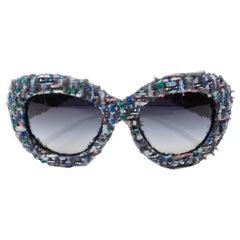 Chanel Pre-Fall Tweed Sunglasses